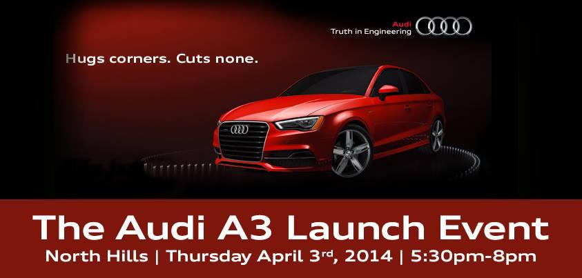 Audi A3 Launch Event